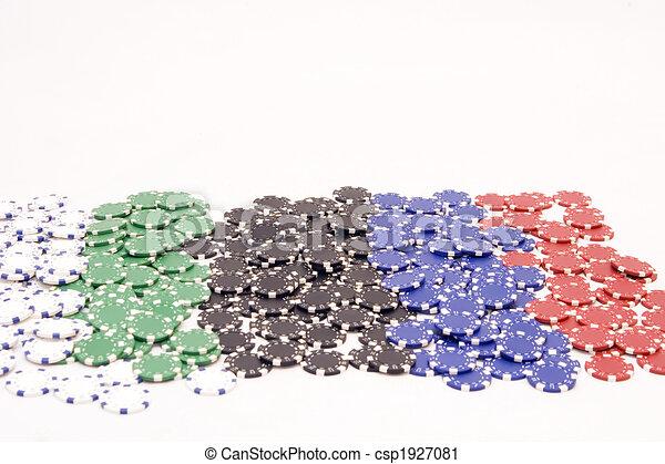 Chips de casino - csp1927081