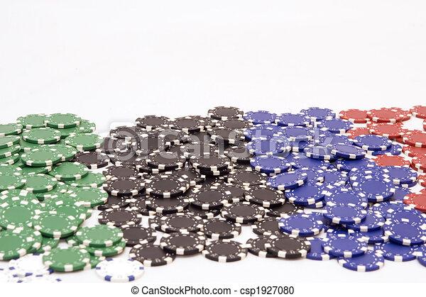 Chips de casino - csp1927080
