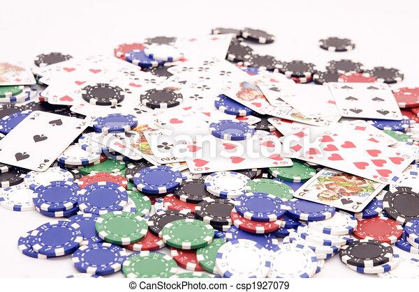 Chips de casino - csp1927079