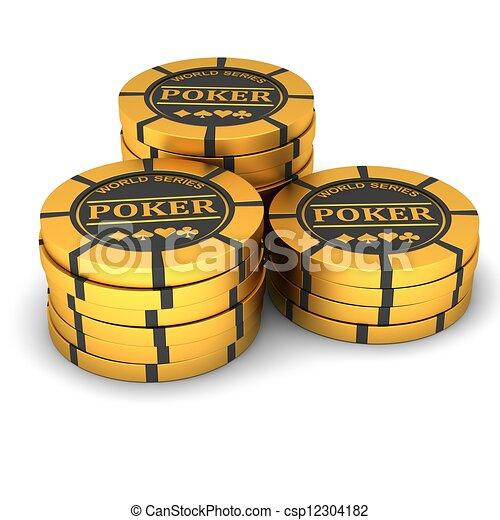Chips de póquer - csp12304182