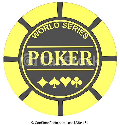 Chips de póquer - csp12304184