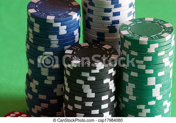Las fichas de juego - csp17984080