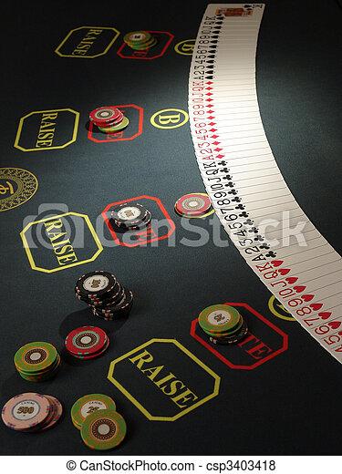 Las fichas de juego - csp3403418