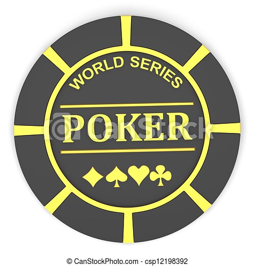 Chips de póquer - csp12198392