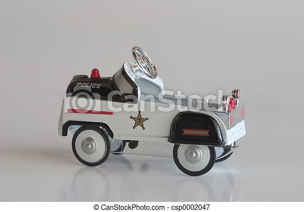 Pedal Car - Police - csp0002047