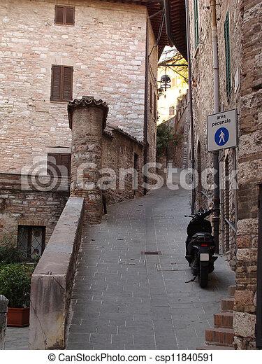 Pedestrian area - csp11840591