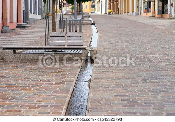 Pedestrian area - csp43322798