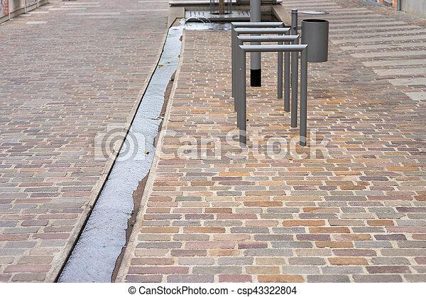 Pedestrian area - csp43322804