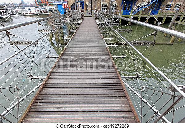 Pedestrian Bridge - csp49272289