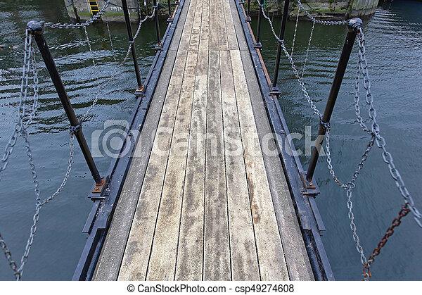Pedestrian Bridge - csp49274608