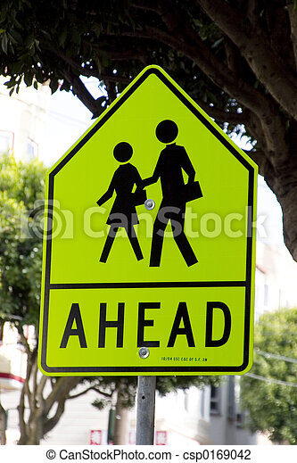 Pedestrian Sign - csp0169042