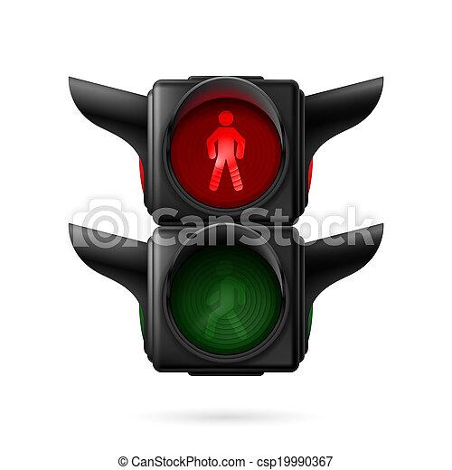 Pedestrian traffic light - csp19990367