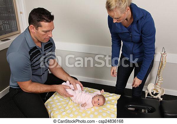 Pediatric Chiropractic - csp24836168
