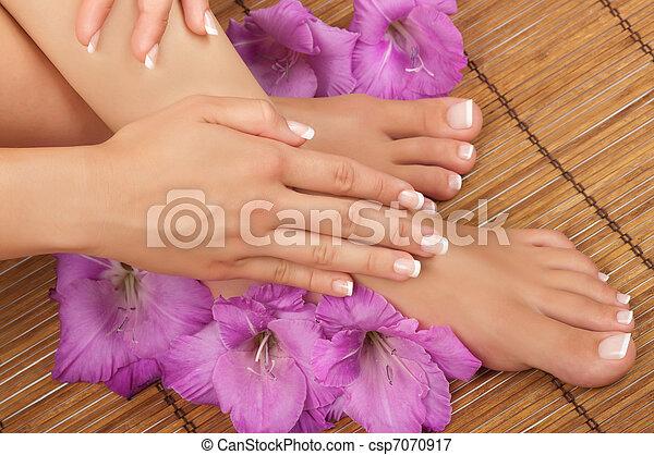 Pedicure and Manicure Spa - csp7070917