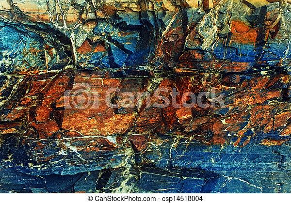 pedra, rachas, colorido, textura - csp14518004