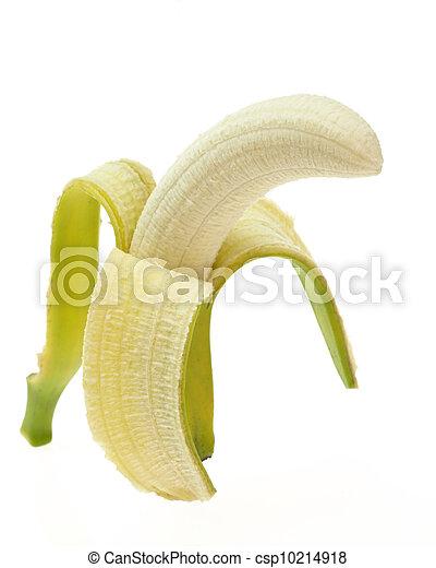 peeled banana, - csp10214918