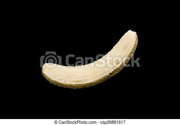 Peeled banana - csp26881617