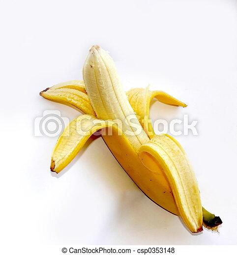 Peeled banana - csp0353148