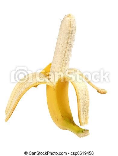 Peeled Banana - csp0619458