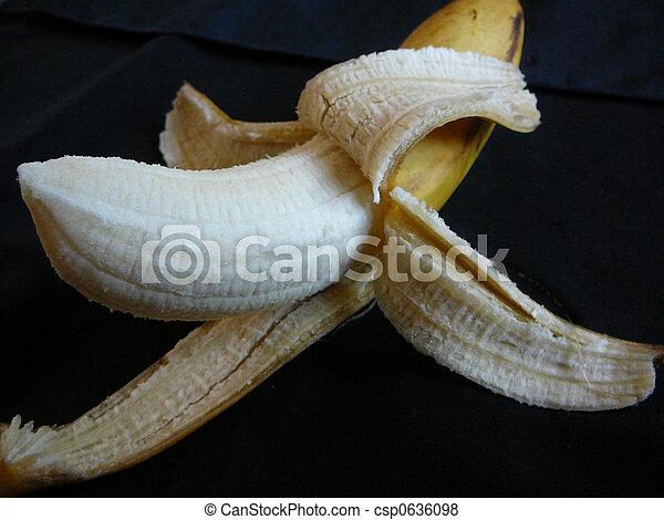 Peeled Banana - csp0636098