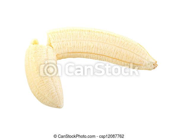 Peeled banana - csp12087762