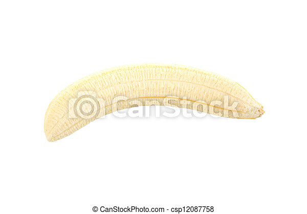 Peeled banana - csp12087758