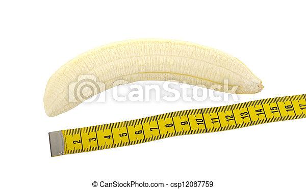 Peeled banana - csp12087759