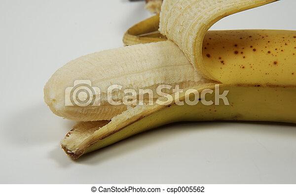 Peeled Banana - csp0005562