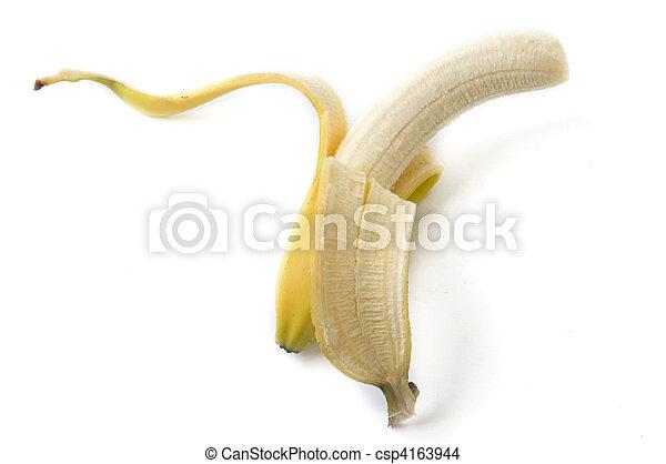 peeled banana - csp4163944