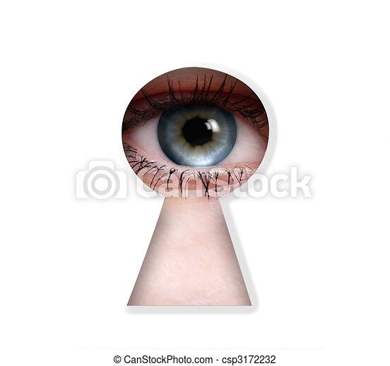 peeper eye - csp3172232
