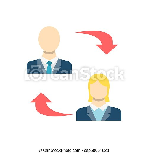 Peer To Related Vector Icon