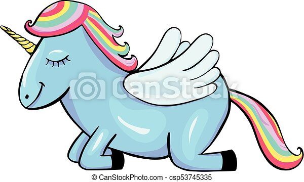 pegasus cartoon icon isolated on white background vectors search rh canstockphoto co uk black pegasus clipart pegasus clipart free