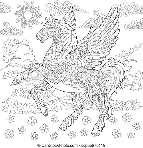 Greek Mythology Coloring Pages - GetColoringPages.com | 470x450