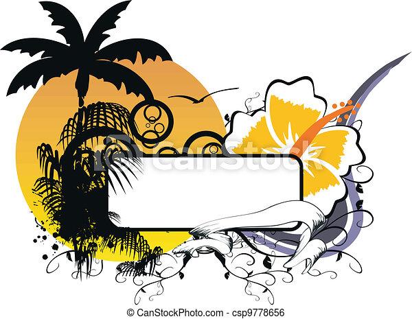 Espacio de copia hawaiano 2 - csp9778656