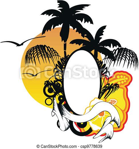 Espacio de copia hawaiano - csp9778639