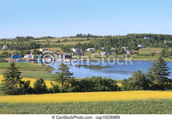 P.E.I. summer landscape - csp10236989
