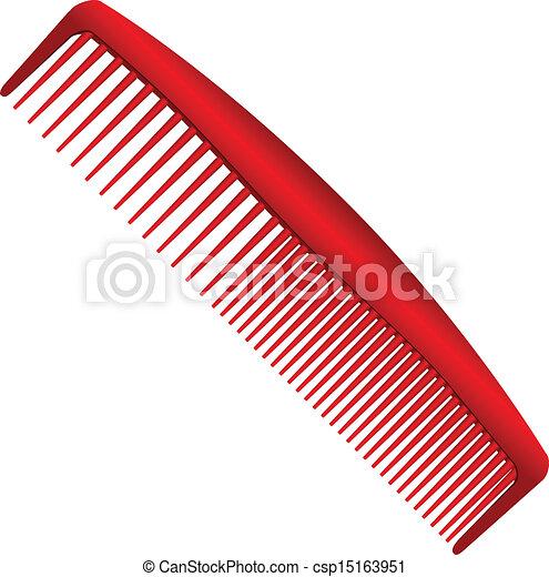 Hombres peine rojo - csp15163951