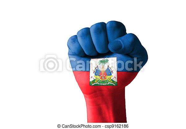 couleur drapeau haitien-
