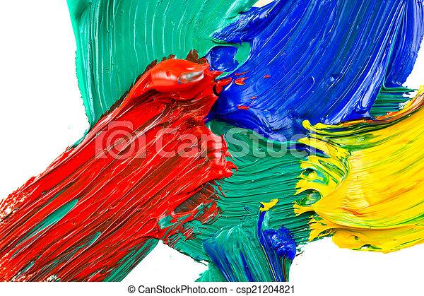 peint, résumé - csp21204821