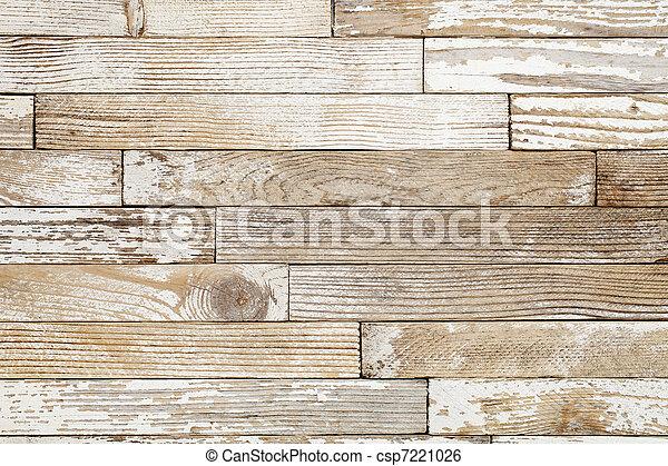 peint, vieux, bois, grunge - csp7221026