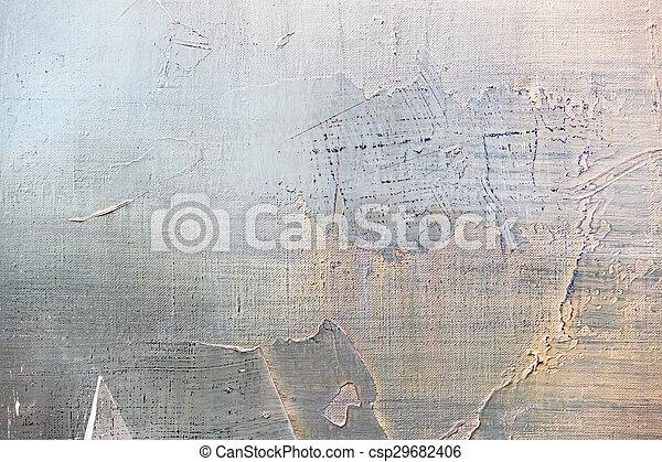 peinture, résumé, huile, closeup, détail - csp29682406
