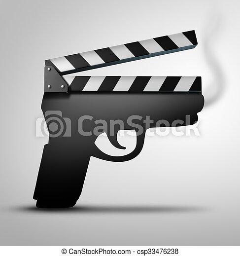 El concepto de violencia cinematográfica - csp33476238