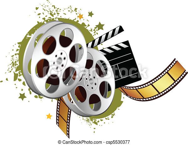 Elementos de película - csp5530377