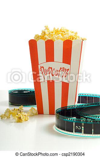 En el cine - csp2190304
