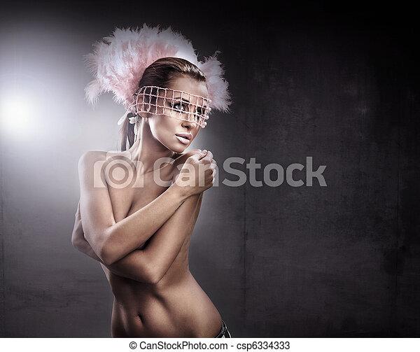pelado, impressionante, beleza - csp6334333