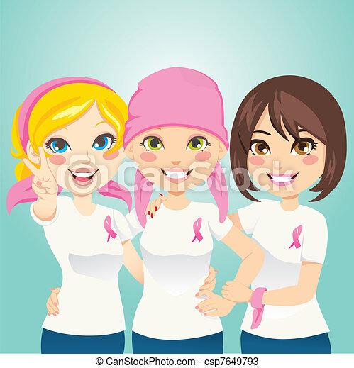 Lucha contra el cáncer de mama - csp7649793
