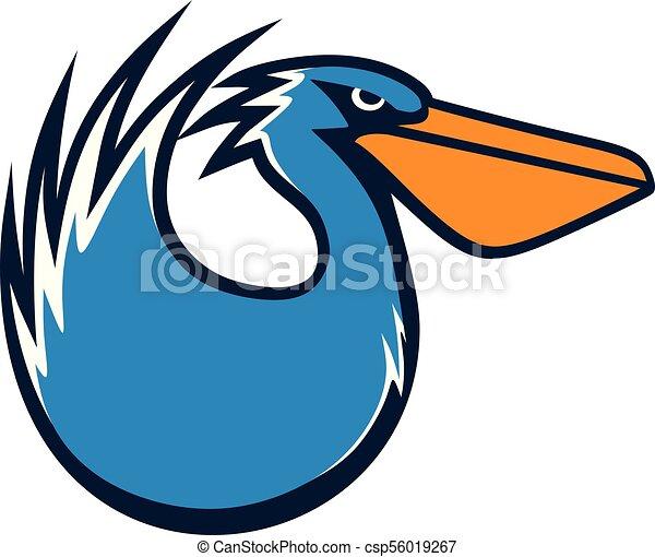 Pelican vector illustration - csp56019267