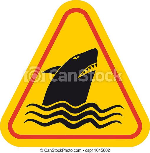 Tiburón peligroso - csp11045602
