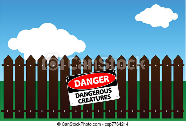 Criaturas peligrosas - csp7764214