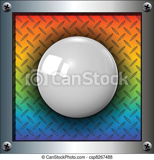 Bola blanca - csp8267488